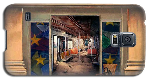 Galaxy S5 Case featuring the painting Cafeteria by Mojo Mendiola