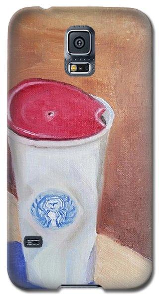 Caffe' Latte Galaxy S5 Case by Carol Duarte