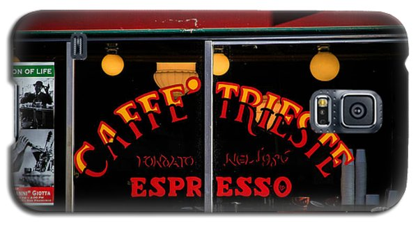 Caffe Trieste Espresso Window Galaxy S5 Case