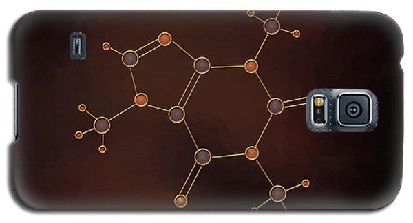 Caffeine Molecule Galaxy S5 Case