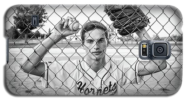 Galaxy S5 Case featuring the photograph Caged Competitor by Bill Pevlor