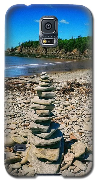 Cairn In Eastern Canada Galaxy S5 Case