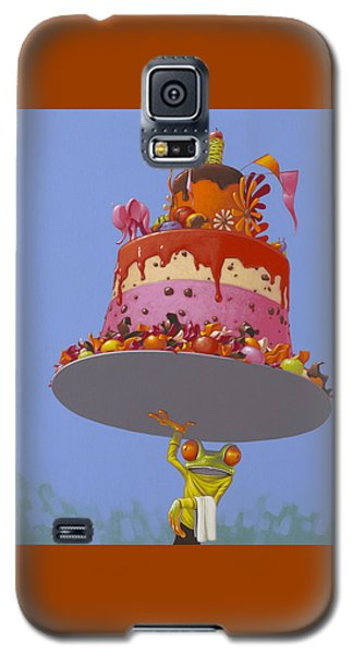 Cake Galaxy S5 Case by Jasper Oostland