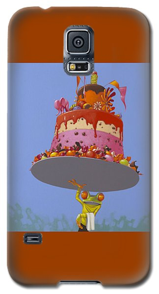 Cake Galaxy S5 Case by Jasper Oostland