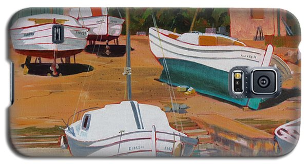 Cala Figuera Boatyard - II Galaxy S5 Case