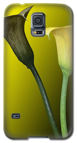 Cala Lilies Opposites Galaxy S5 Case