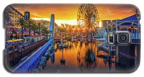 Calfornia Sunset Galaxy S5 Case