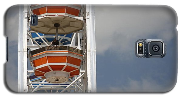 Galaxy S5 Case featuring the photograph Calgary Stampede Ferris Wheel by Wilko Van de Kamp