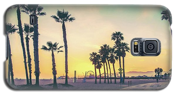 Galaxy S5 Case featuring the photograph Cali Sunset by Az Jackson