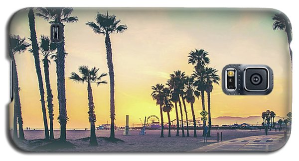 Venice Beach Galaxy S5 Case - Cali Sunset by Az Jackson