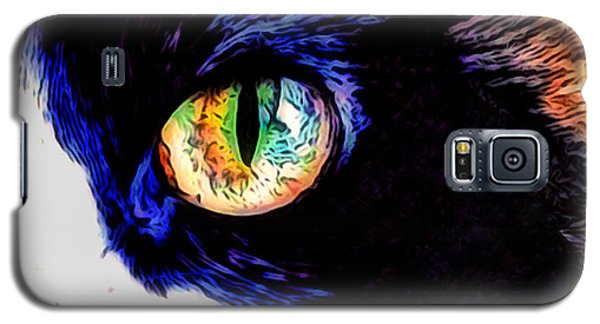 Calico Cat Galaxy S5 Case by Kathy Kelly
