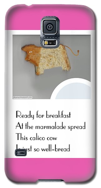 Calico Cow Galaxy S5 Case