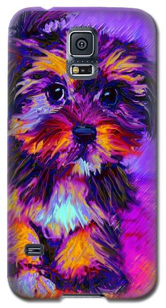 Calico Dog Galaxy S5 Case