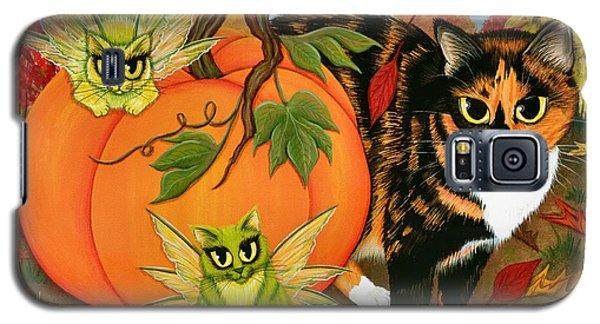 Calico's Mystical Pumpkin Galaxy S5 Case
