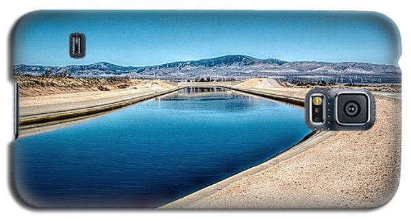California Aqueduct At Fairmont Galaxy S5 Case