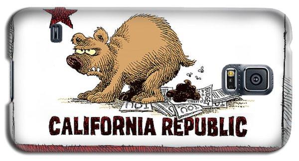 California Budget Iou Galaxy S5 Case