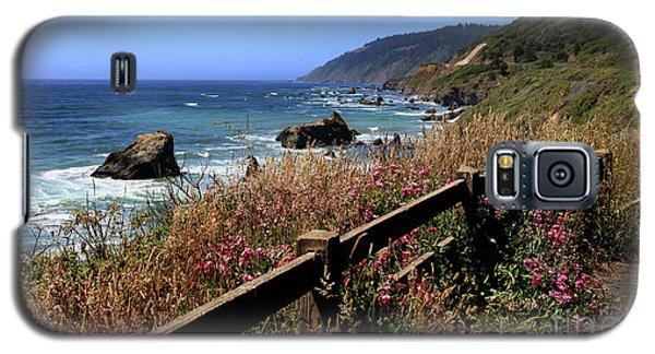 Galaxy S5 Case featuring the photograph California Coast by Joseph G Holland