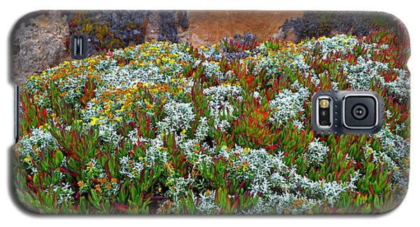 California Coast Wildflowers Galaxy S5 Case