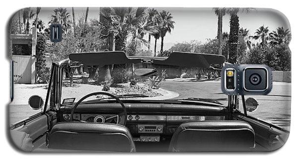 Galaxy S5 Case featuring the photograph California Cruisin B And W by Cheri Randolph