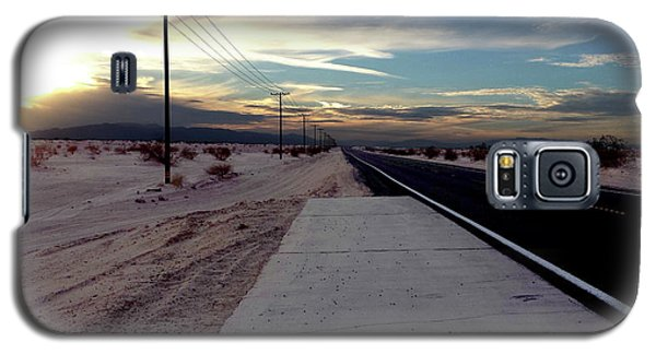 California Desert Highway Galaxy S5 Case by Christopher Woods