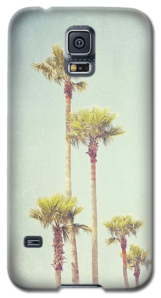 Galaxy S5 Case featuring the photograph California Dreaming - Palm Tree Print by Melanie Alexandra Price