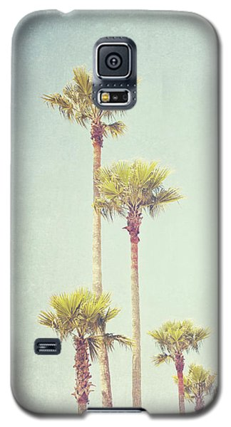 California Dreaming - Palm Tree Print Galaxy S5 Case