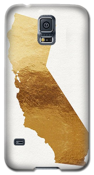 California Gold- Art By Linda Woods Galaxy S5 Case by Linda Woods