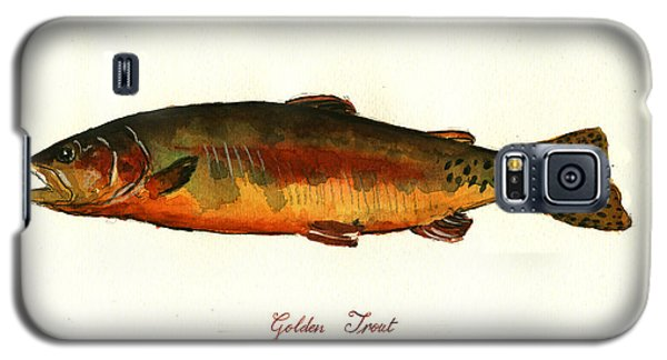 Trout Galaxy S5 Case - California Golden Trout Fish by Juan  Bosco