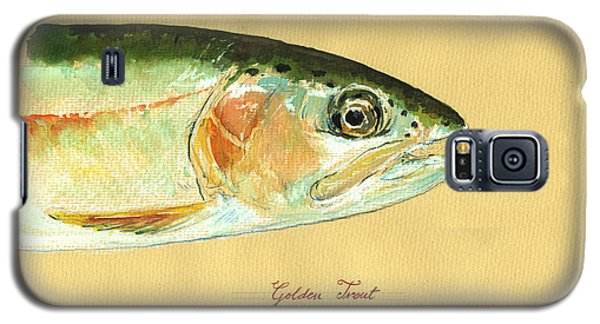Trout Galaxy S5 Case - California Golden Trout by Juan  Bosco