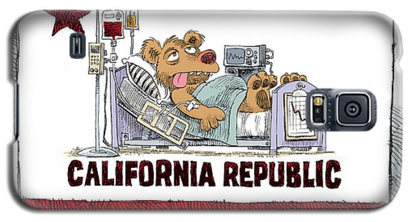 California Is Sick Galaxy S5 Case