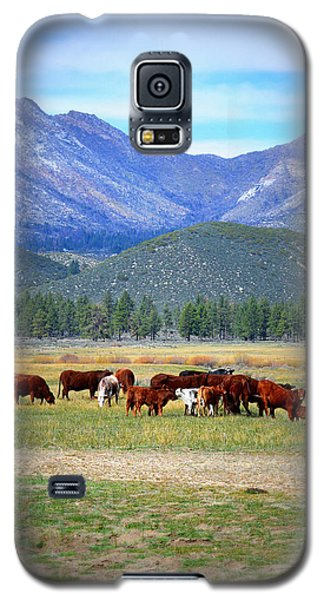 Galaxy S5 Case featuring the photograph California Pastures by Glenn McCarthy Art and Photography