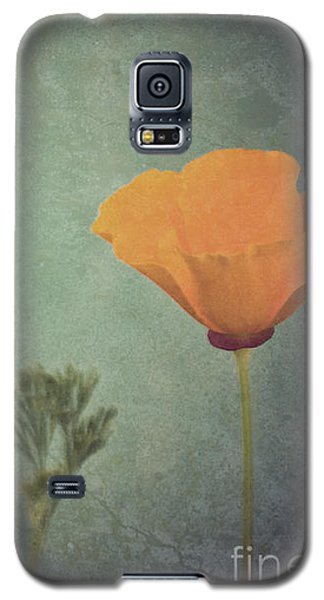 California Poppy Galaxy S5 Case