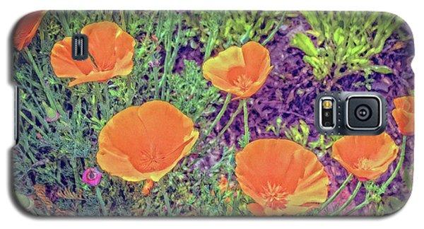 California Poppys Too Galaxy S5 Case