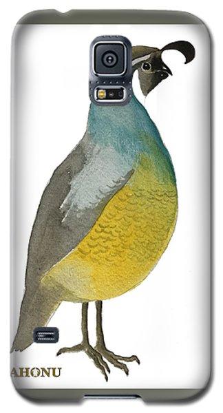 California Quail Posing Galaxy S5 Case