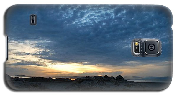 California Rocky Beach Sunset  Galaxy S5 Case