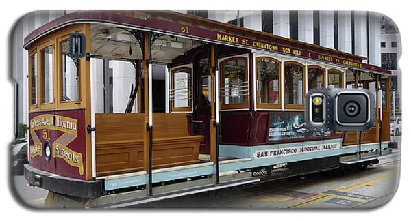 Galaxy S5 Case featuring the photograph California Street Cable Car by Steven Spak