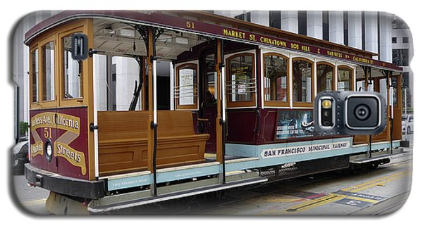 California Street Cable Car Galaxy S5 Case by Steven Spak