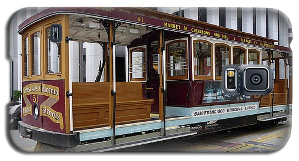 California Street Cable Car Galaxy S5 Case