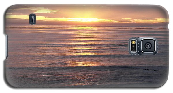 Galaxy S5 Case featuring the photograph California Sunset by Carol  Bradley