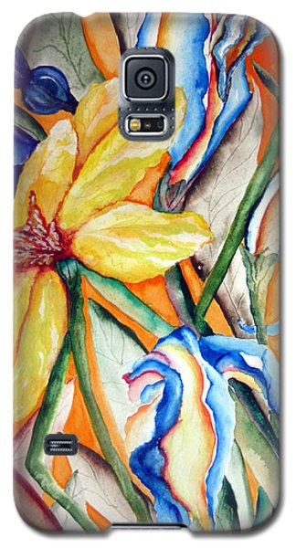 California Wildflowers Series I Galaxy S5 Case by Lil Taylor