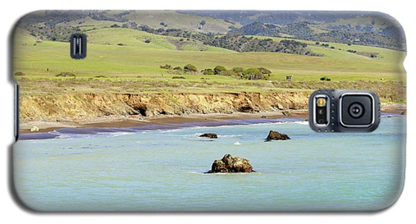 Galaxy S5 Case featuring the photograph California's Central Coast by Art Block Collections