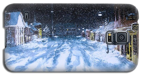 Galaxy S5 Case featuring the painting Call Out The Plows by Jack Skinner
