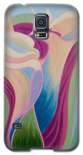 Calla Lilies Galaxy S5 Case by Irene Hurdle