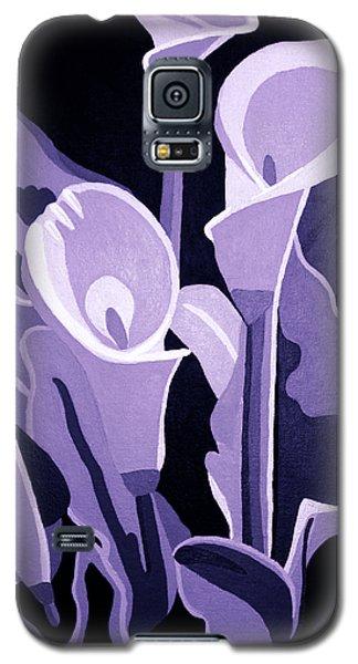 Calla Lillies Lavender Galaxy S5 Case