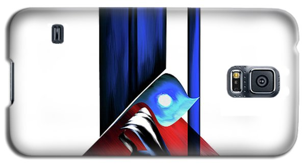 Galaxy S5 Case featuring the painting Calligraphy 102 2 by Mawra Tahreem