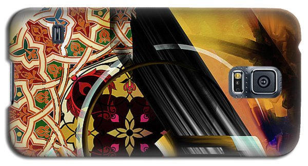 Galaxy S5 Case featuring the painting Calligraphy 103 1 1 by Mawra Tahreem