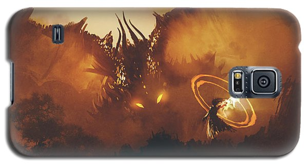 Calling Of The Dragon Galaxy S5 Case