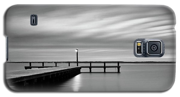 Calm Barnegat Bay New Jersey Black And White Galaxy S5 Case