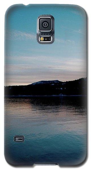 Calm Blue Lake Galaxy S5 Case