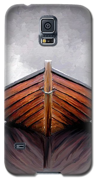 Galaxy S5 Case featuring the painting Calm by James Shepherd